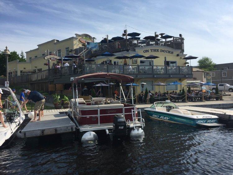 fairy lake, leke vernon, huntsville, on the docks