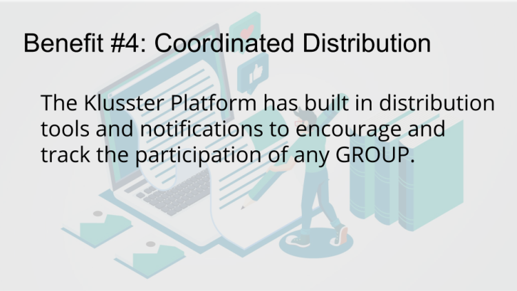 coordinated, blog, distribution