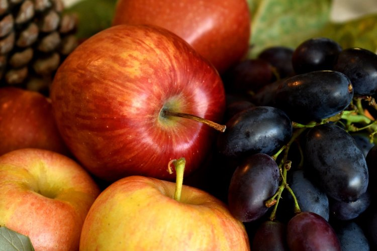 healthy food, fall fruit, apples, eat well