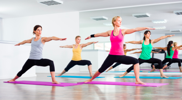 yoga, the fitness firm