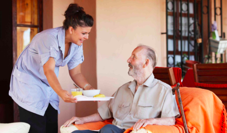retire at home, in-home care