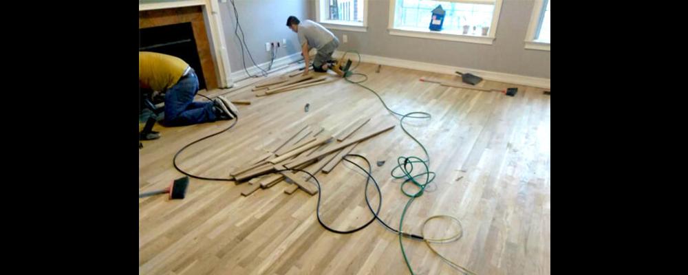Floor repair services in Atlanta