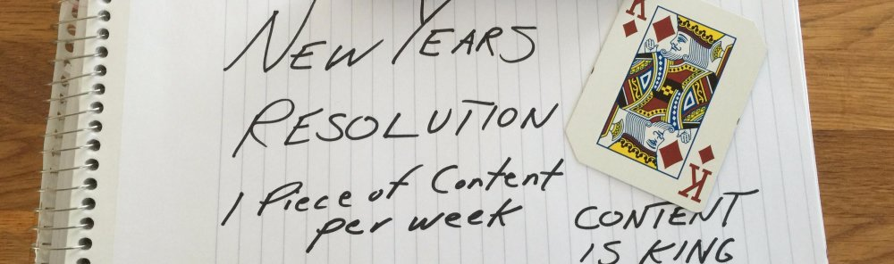 Your Content Marketing 365 Day Resolution