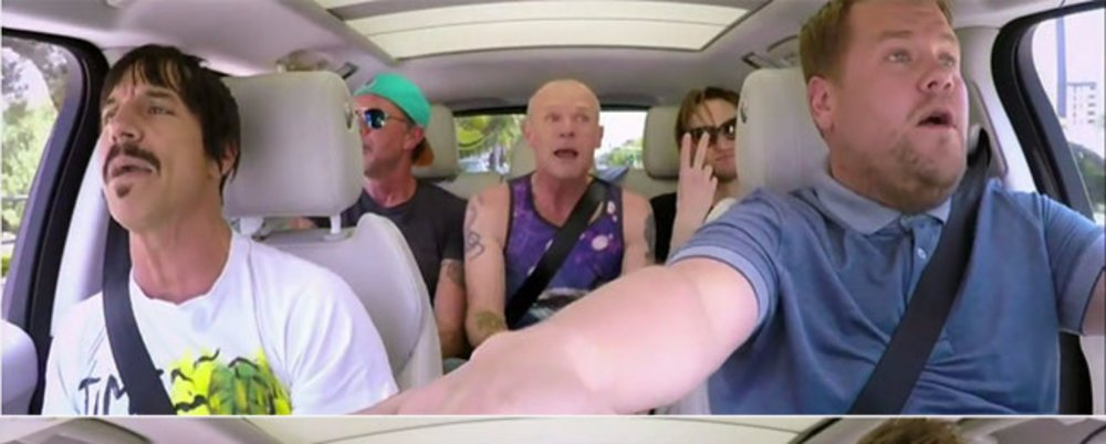 Carpool Karoke: Red Hot Chilli Peppers & James Corden