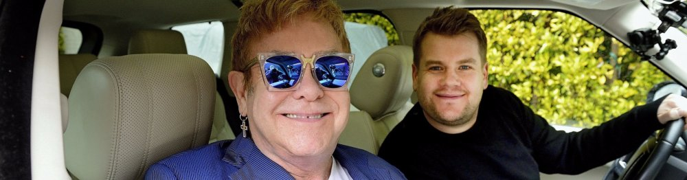 Carpool Karoke: Elton John & James Corden