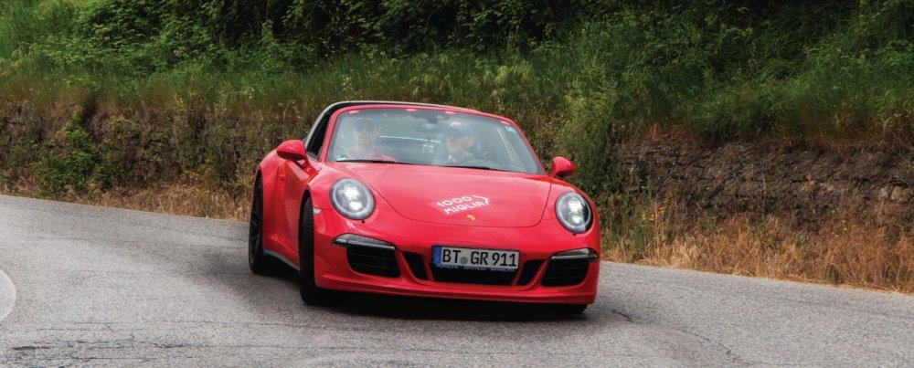 I want a Red Porsche!