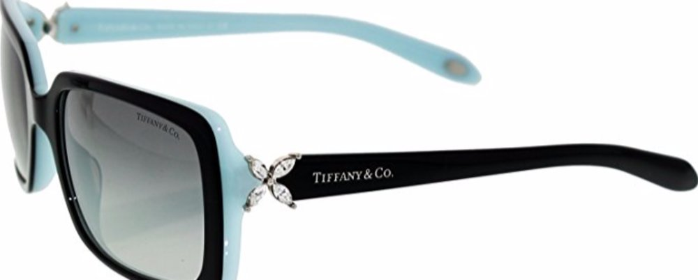 Gracie Says - Get Your Tiffany & Co Women's Gradient Black Rectangle Sunglasses