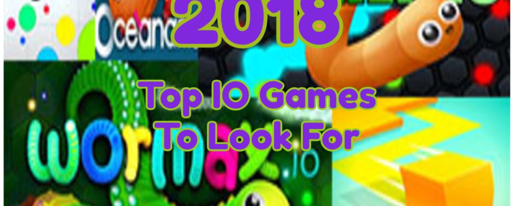 The General Look About IO Game For 2018
