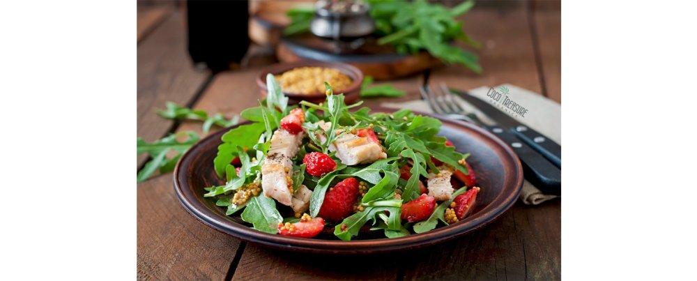 Summery Strawberry Chicken Salad