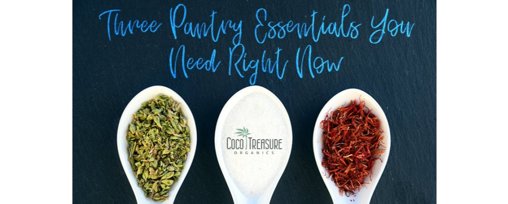 3 Pantry Essentials You Need Right Now