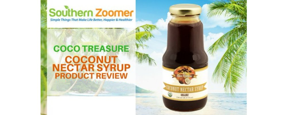 Our Coconut Nectar Syrup, Reviewed by Southern Zoomer