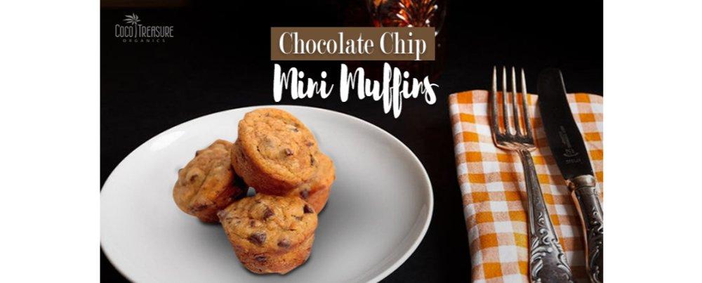 Chocolate Chip Mini Muffins