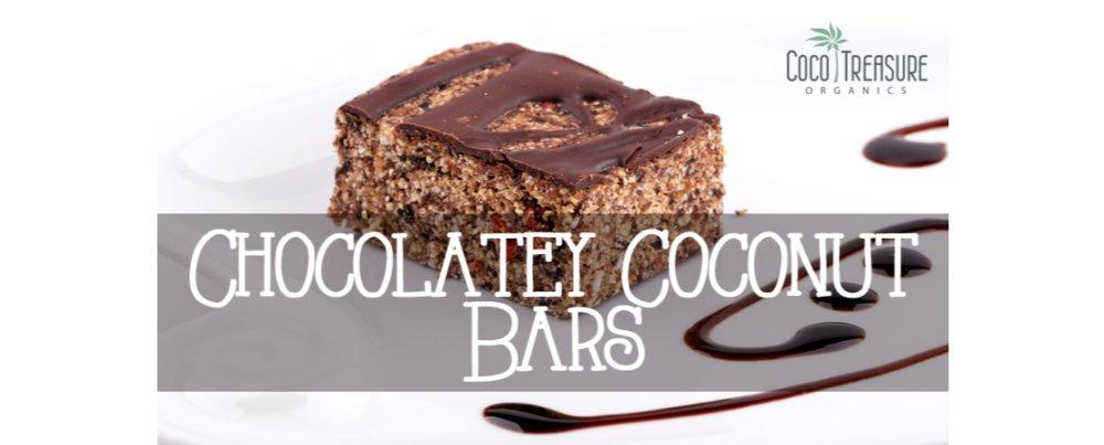 Chocolatey Coconut Bars