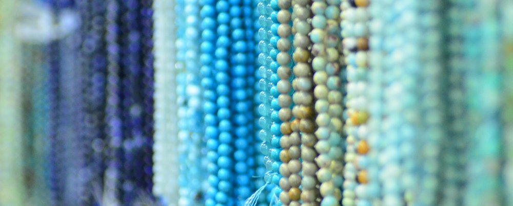 Checking Out Chakra Beads at The Bead Boutique