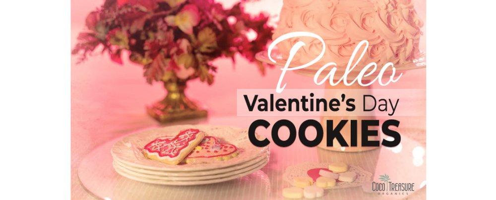 Paleo Valentine's Day Cookie