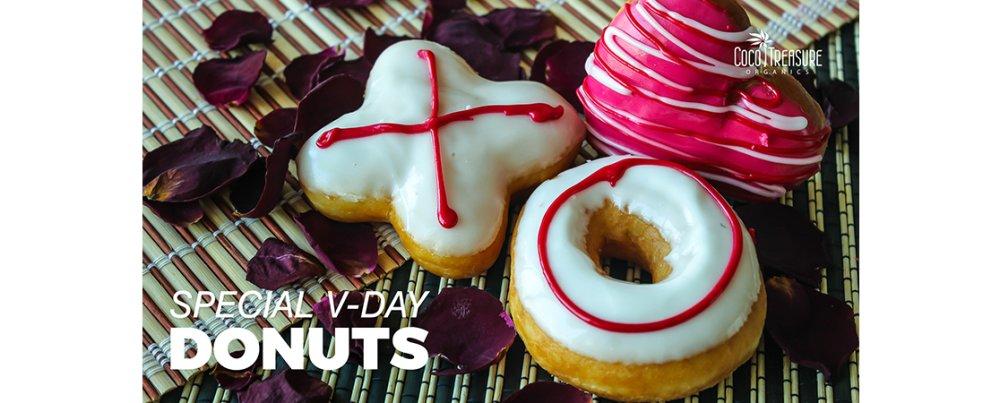 Special V-Day Donuts