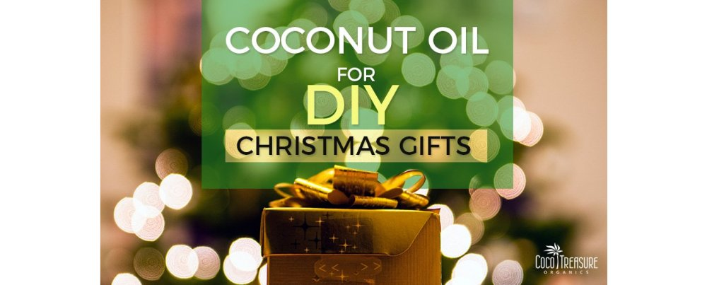 Buy Coconut Oil for DIY Christmas Gifts