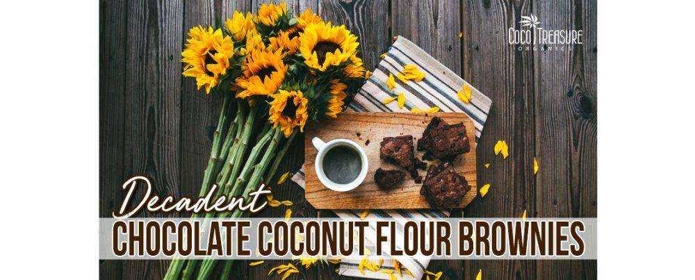 Decadent Chocolate Coconut Flour Brownies
