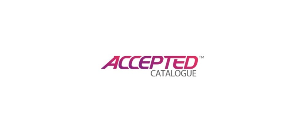 Accepted Catalogue