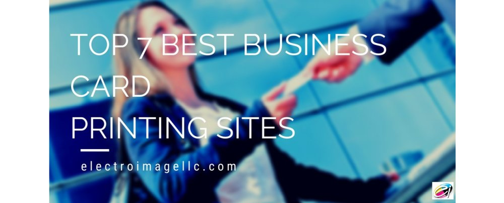Top 7 Best Business Card Printing Sites