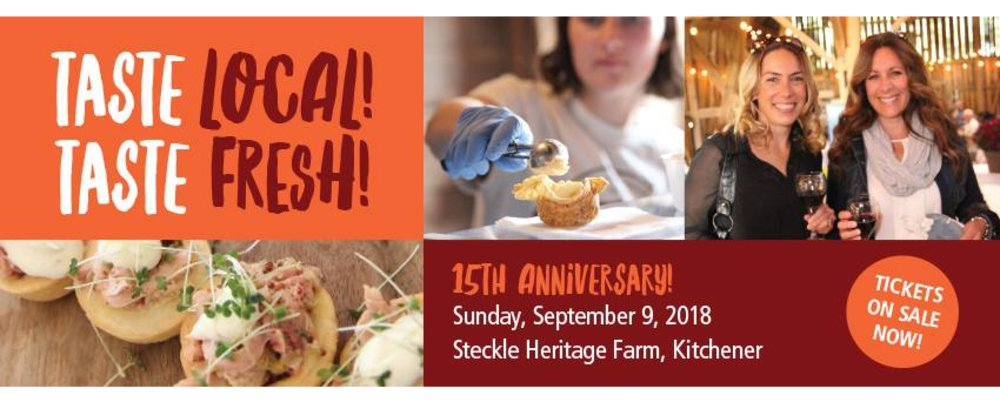 Taste Local! Taste Fresh! 15th Anniversary
