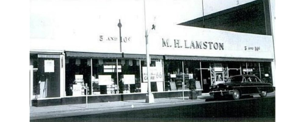 Lamstons' 5 and Dime, Mainstay of the 1950's and 60's