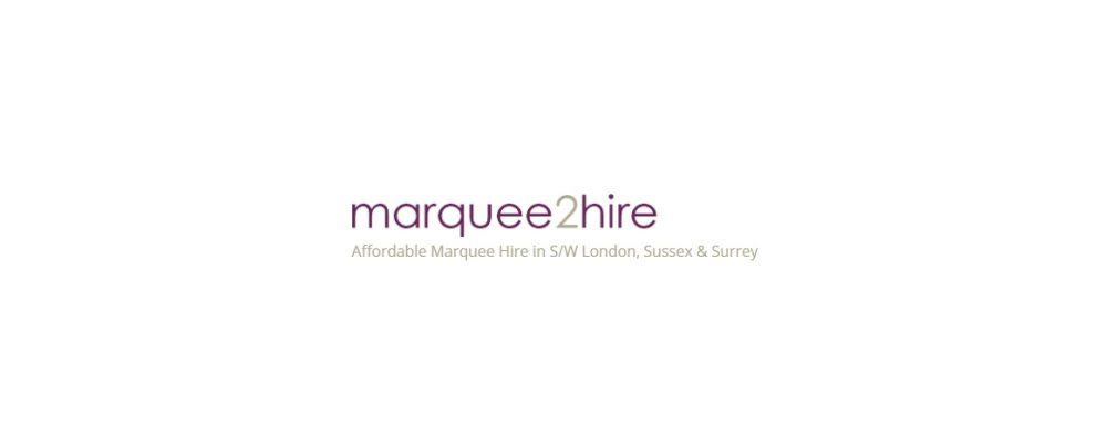 Marquee 2 Hire