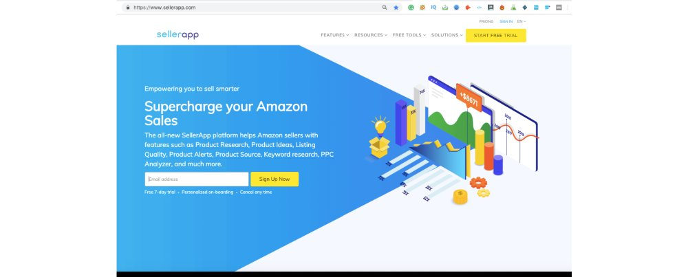 All in One Amazon Seller Tool SellerApp