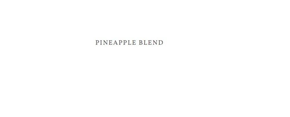 Pineapple Blend