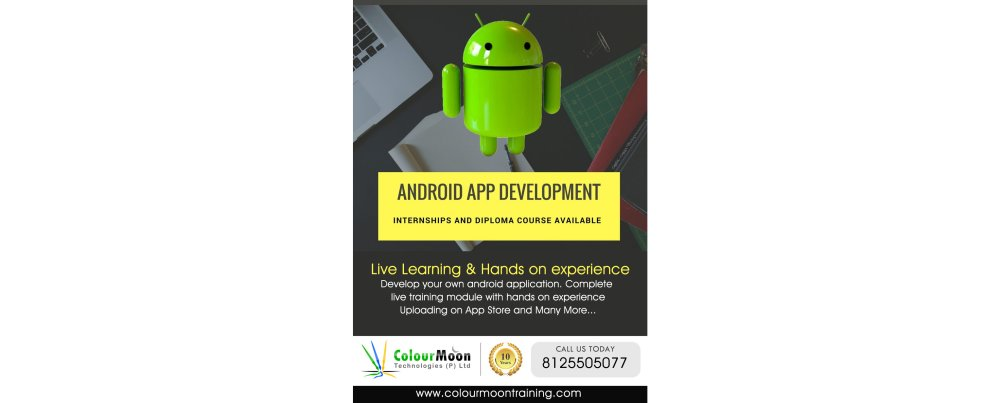 Best Mobile App Development Institutes | Colour Moon Training