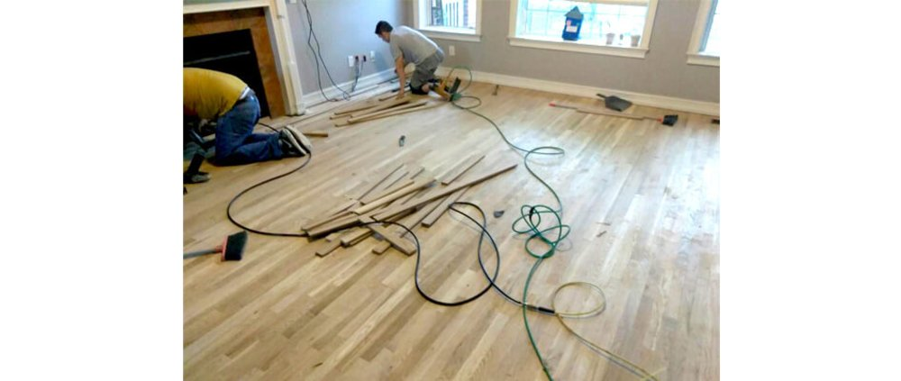 Floor repair services in Atlanta
