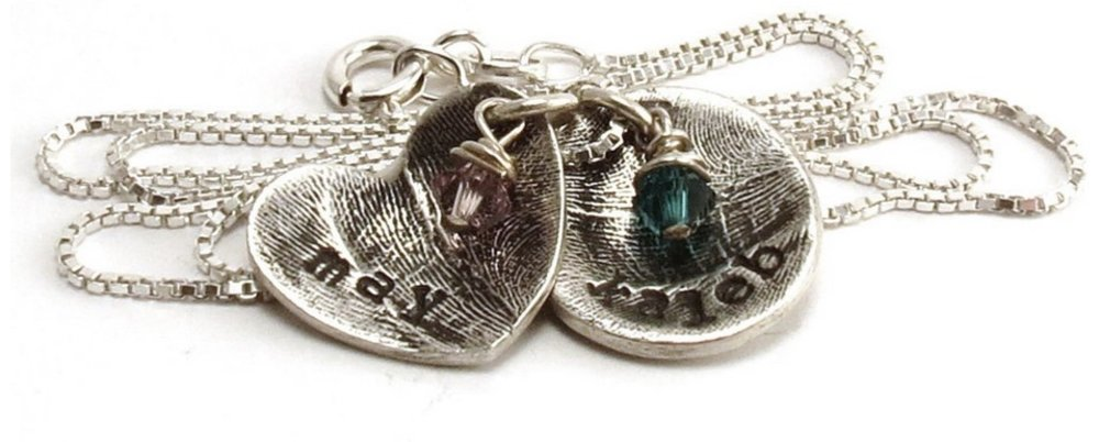 Fingerprint and Toeprint Jewelry