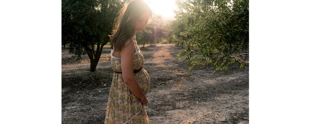 Pregnancy as a spiritual clearing from head to tailbone