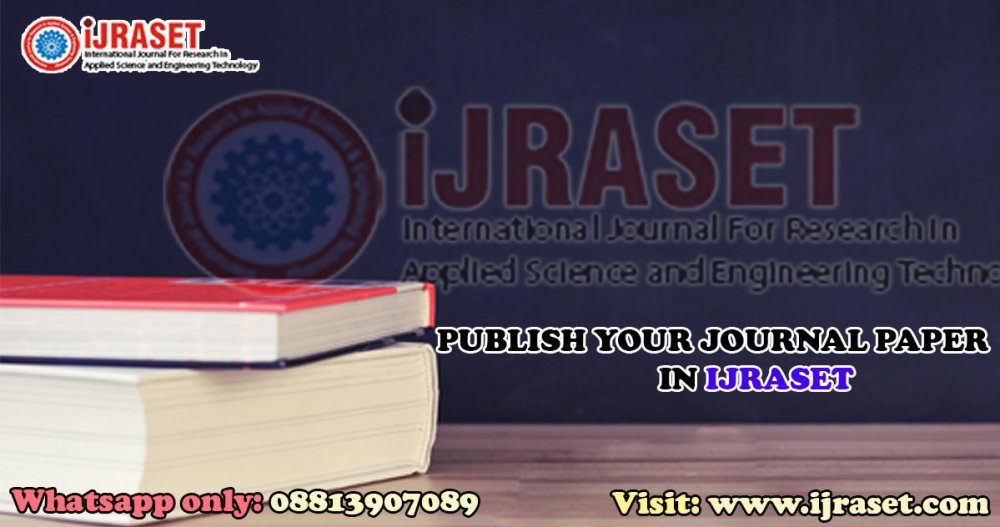 Boost up your Carrier by publishing your Paper in a Renowned Journal