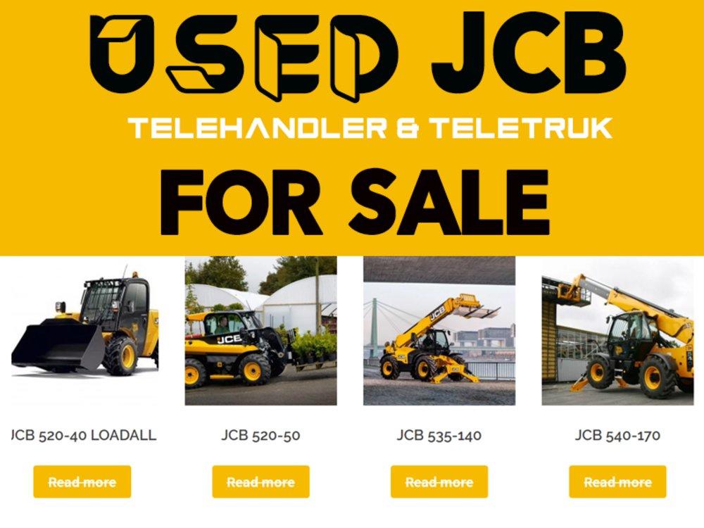 Used JCB Telehandler & Teletruk for Sale