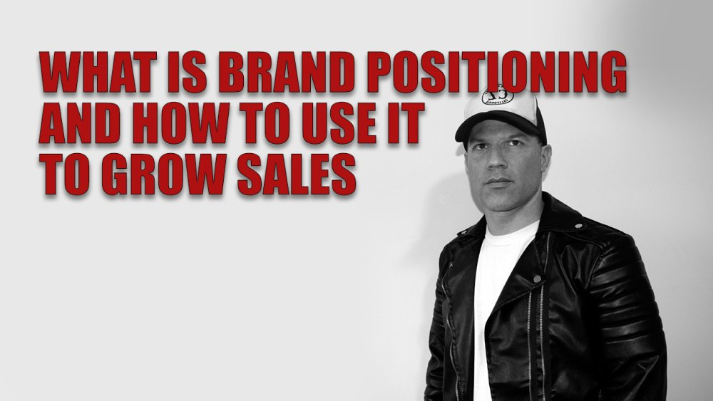 What is brand positioning and how to use it to grow sEnter content title here...