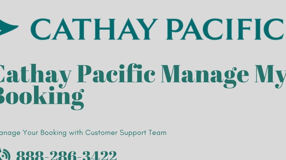 Cathay Pacific Manage My Booking