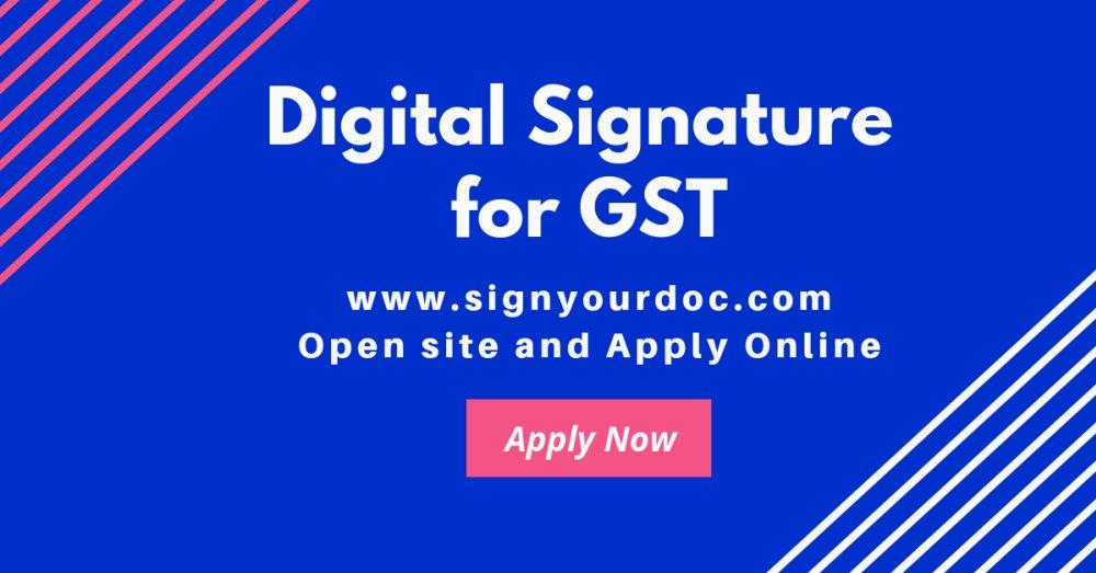 How to Register DSC on GST Portal