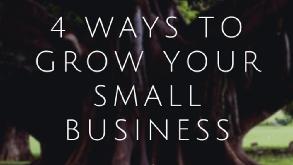 4 Ways to Grow Your Small Business