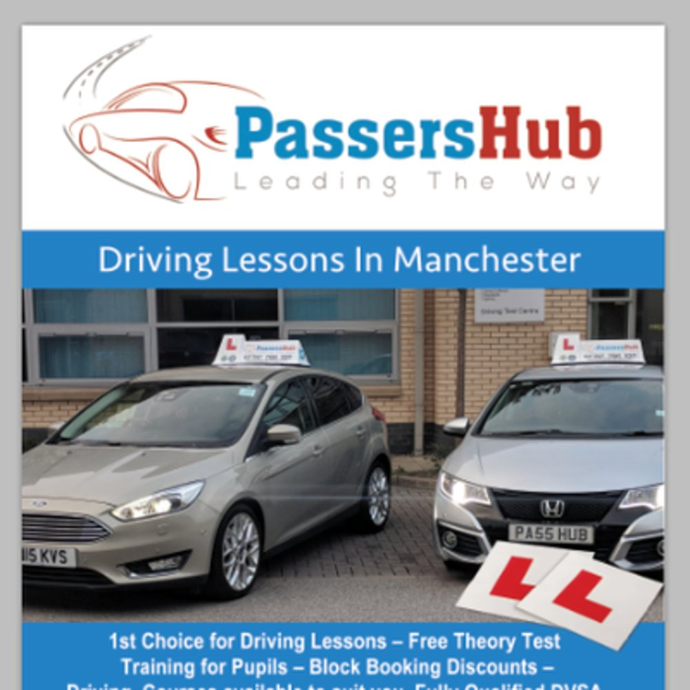 Passers Hub Driving School Manchester
