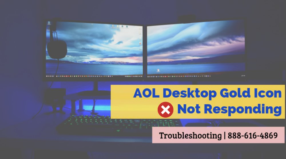 AOL Desktop Gold Icon Not Responding or Won't Open - Fixed