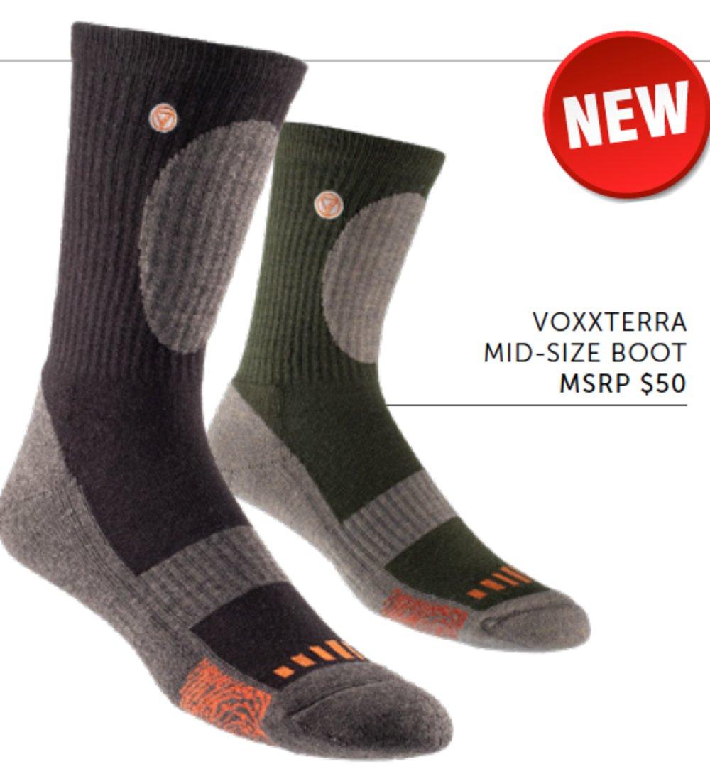 VoxxTerra boot sock