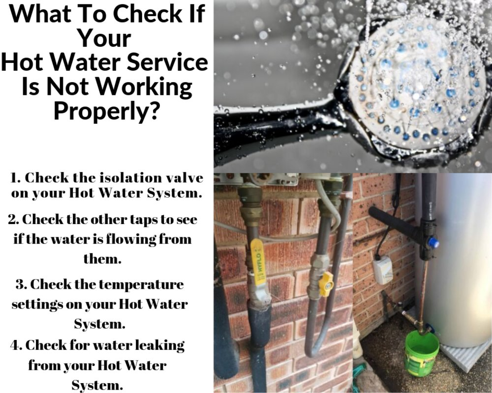 What To Check If Your Hot Water Service Is Not Working Properly