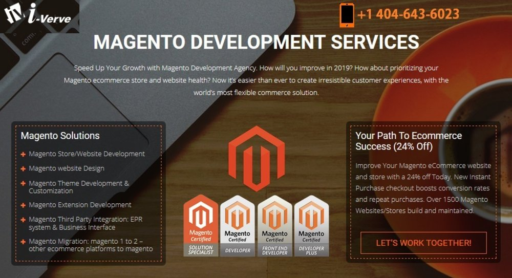 Magento Development Company : i-Verve Inc