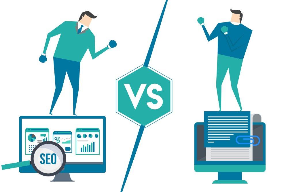 #seo pros vs #contentmarketing pros - who do we need more??