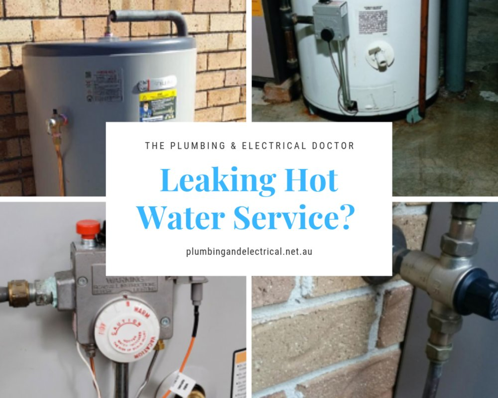 Leaking Hot Water Service? What Should I Do?