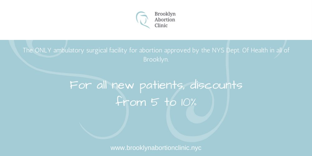 Discount for NEW Patients from Brooklyn Abortion Clinic