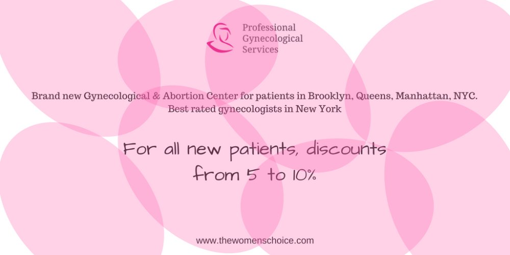 Discount for NEW Patients from Professional Gynecological Services Staten Island