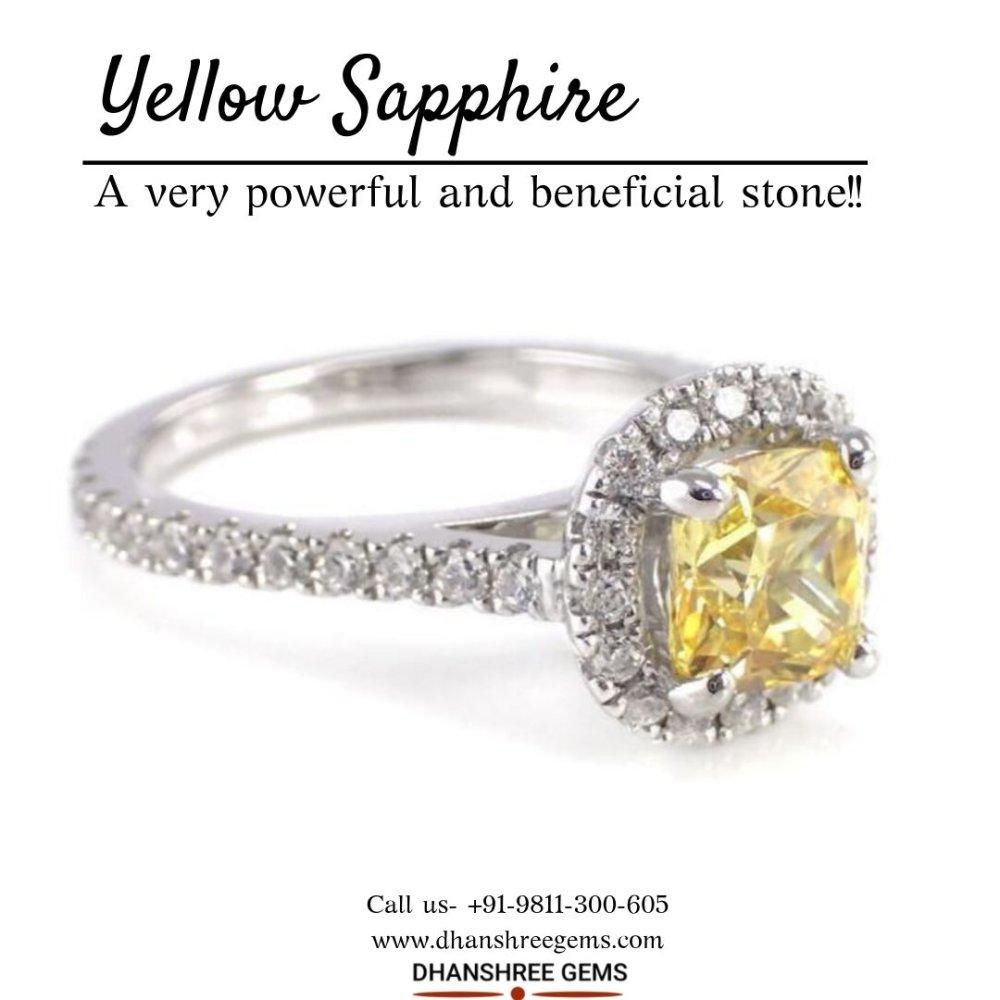 Buy Yellow Sapphire Online
