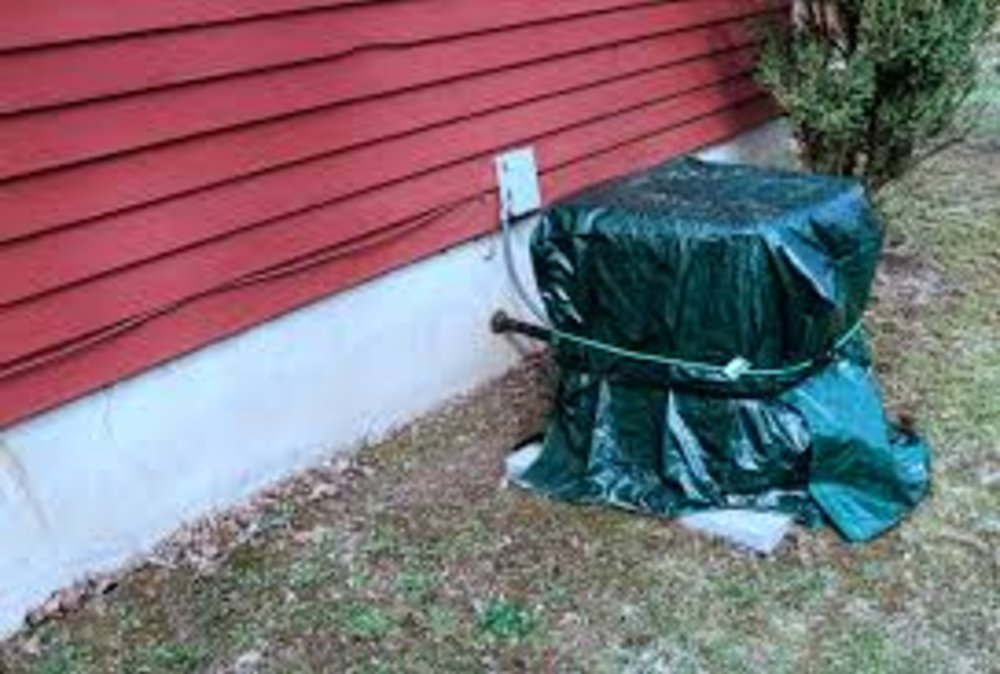 Covering your Air Conditioner for the Winter - Good Idea or Not?